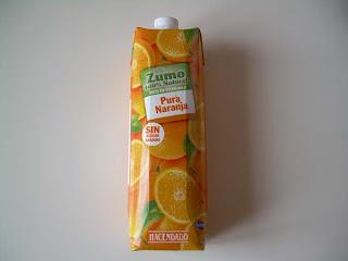 Zumo de naranja HACENDADO (Mercadona) | El blog de las marcas blancas (www.blog-marcas-blancas.blogspot.com)