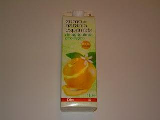 Zumo de naranja exprimida de agricultura ecológica DIA - El blog de las marcas blancas