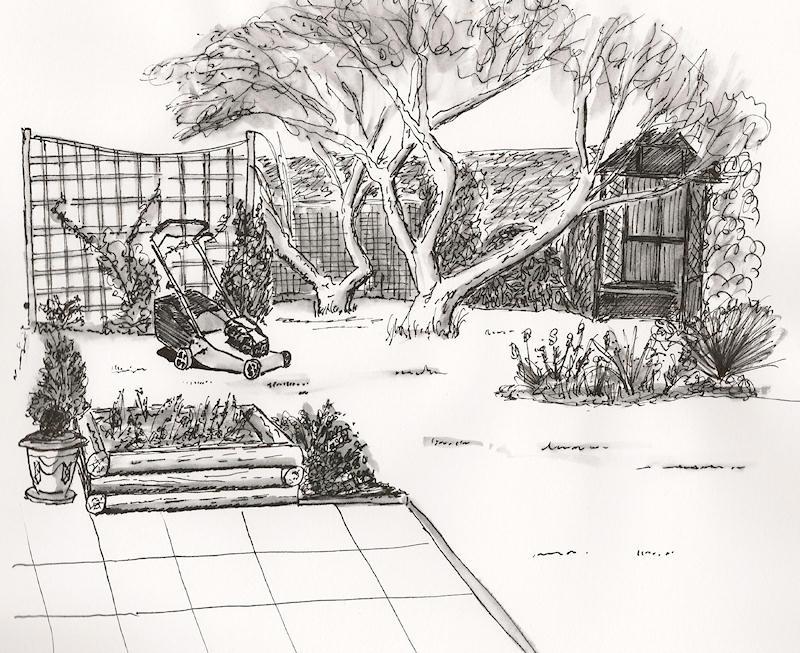 Pinterest the world s catalog of ideas for Landscape design sketches