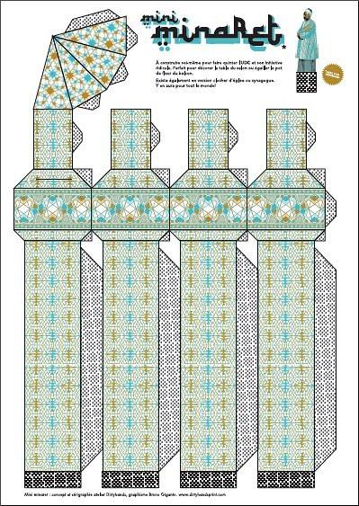 Vorlage zum Minaretteigenbau