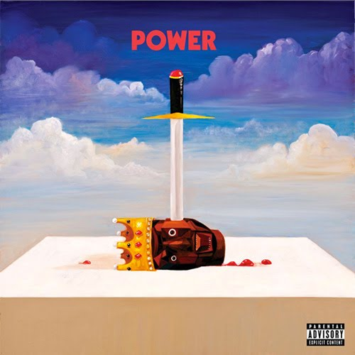 Here is the official album art for KanYe's first single 'Power',