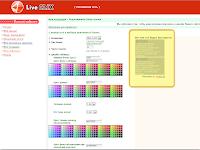 настройка блока рекламных ссылок LiveCLiX