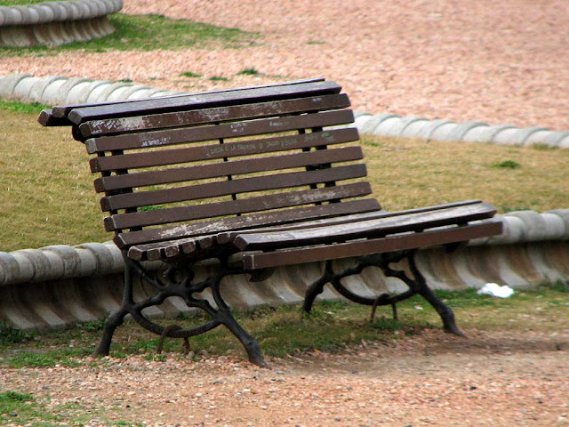 Bench at the Gazebo, Terrazza Mascagni, Livorno