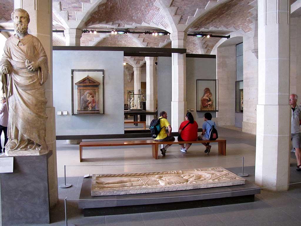 Salle du Manège, Musée du Louvre, Paris