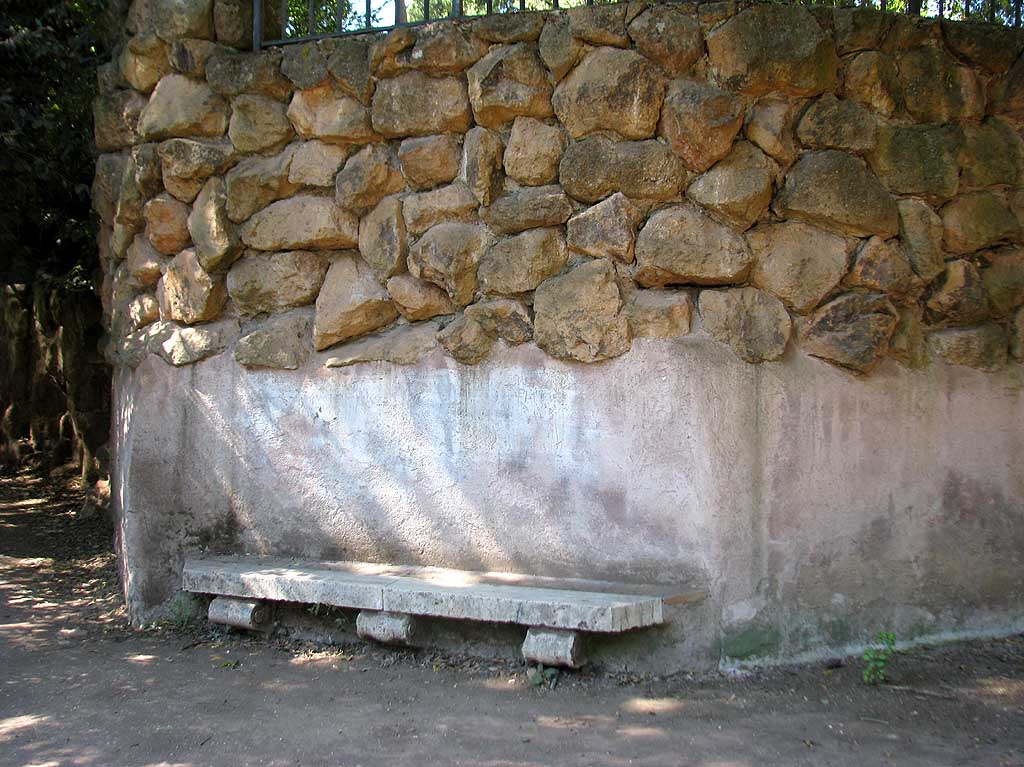Temple of Aesculapius bench, Rome