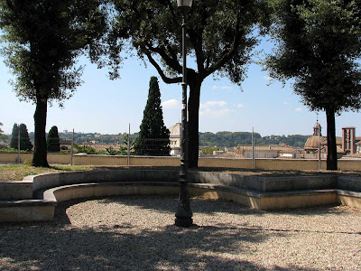 Bench, Capitoline Hill, Rome