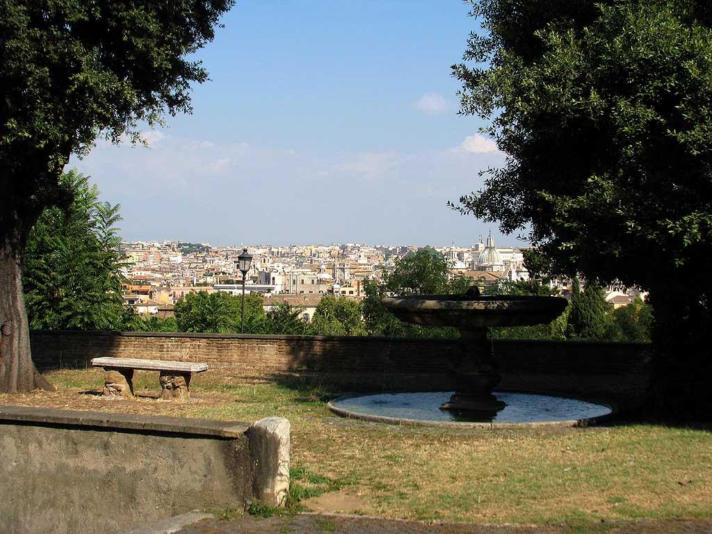 Sant'Onofrio churchyard, Janiculum, Rome