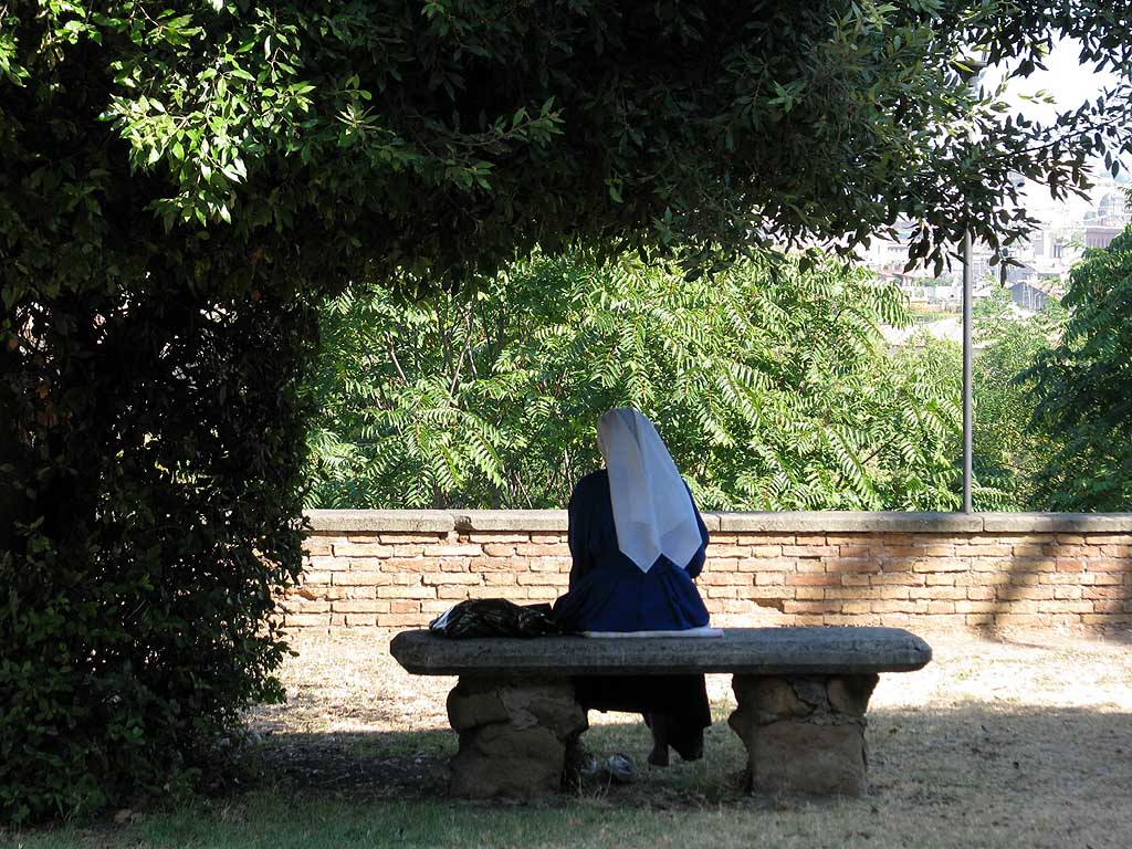 Sant'Onofrio churchyard, Gianicolo, Rome