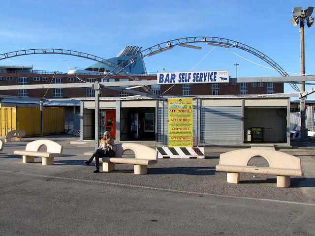 Benches near the Passenger Terminal, Livorno