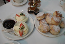 Scones with Clotted Cream and Jam at The Chesterfield Hotel, London