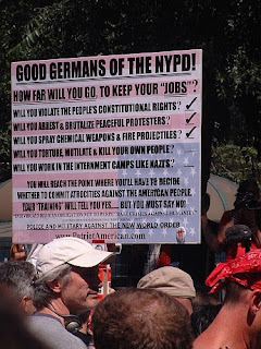 [ Calling NYPD 'Good Germans' (RNC Convention protest, NYC) ]