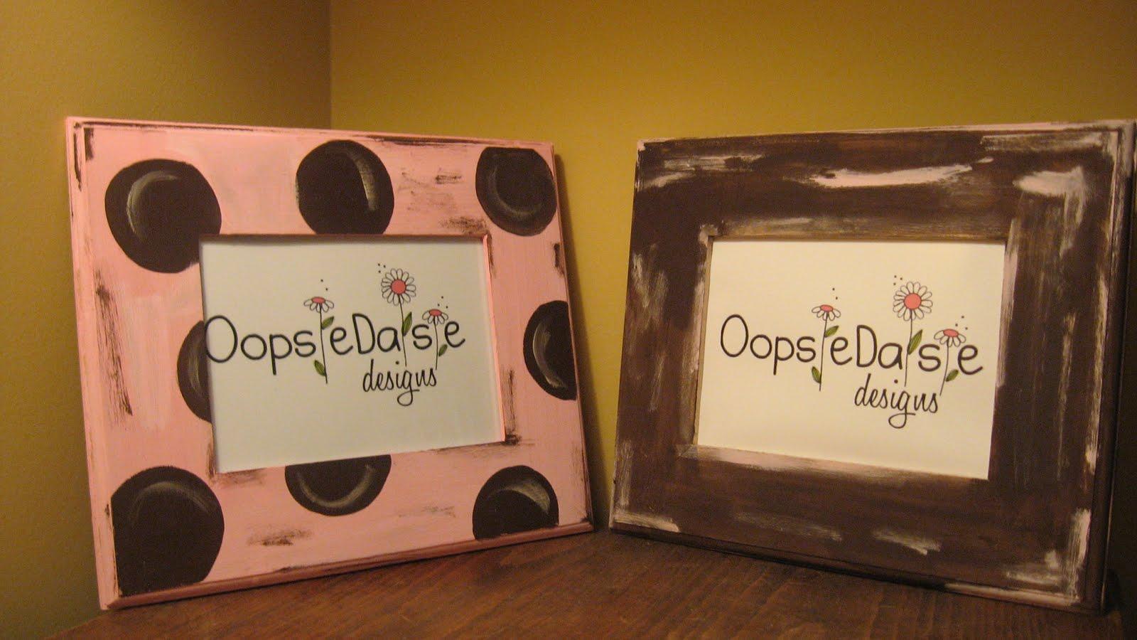 oopsie daisie designs  frames