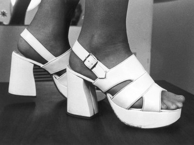 The White Platform Shoes!
