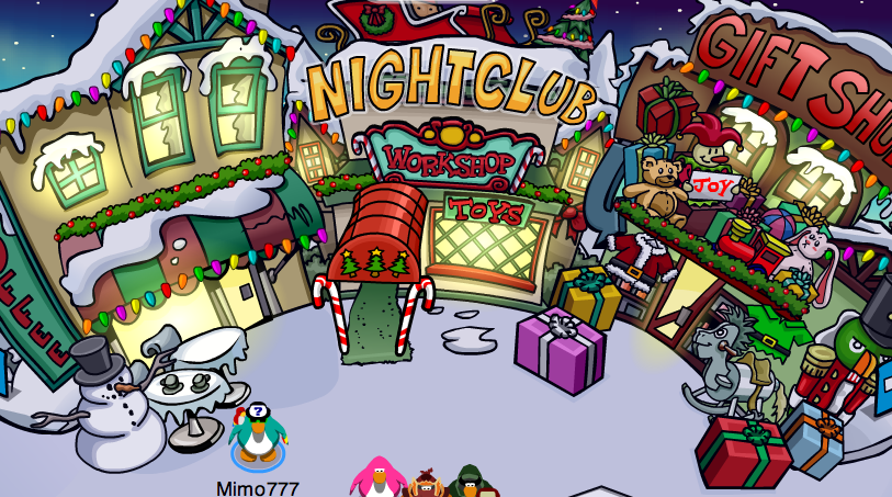 Club Penguin Holiday Party Cheats And Free Items