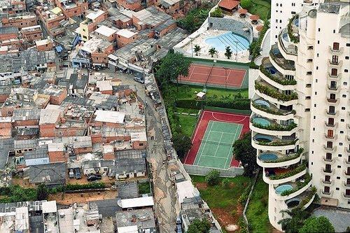 Onde é que começa a violência? Existem cada vez mais desigualdades no mundo...