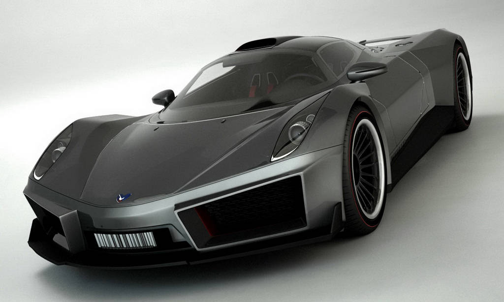 Marussia - Electric Super Car of Russia