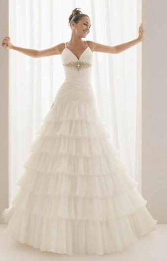 Ya estoy de novia!: Vestidos de novia con tiras super delgadas