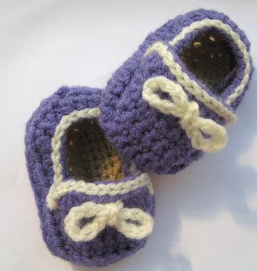 babyslipper häkeln - schoenstricken.de