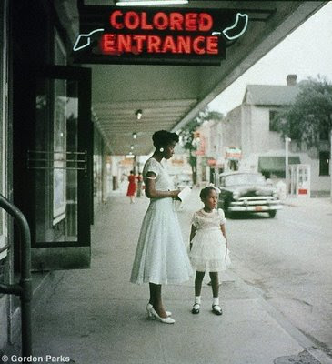 Gordon Parks colored entrance