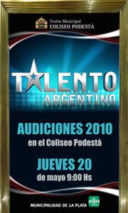 """Audiciones 2010 para """"Talento Argentino"""" en La Plata"""