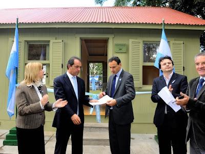 Restauraron la casilla de Benoit en Parque Saavedra de La Plata