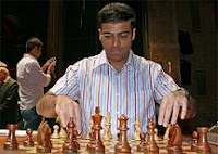 Anand en el XXV Torneo Internacional de Ajedrez Ciudad de Linares - Morelia