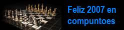 Feliz 2007 os desea este blog de ajedrez