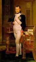 Cuadro del aficionado al ajedrez, Napoleón Bonaparte