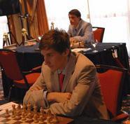 Karjakin y Cheparinov en el Torneo de Ajedrez NH 2007
