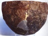 Cerámica procedente de las Cuevas de Nerja en cuadros y lienzos