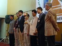 El equipo masculino de ajedrez de Rusia Campeón de Europa de Selecciones 2007