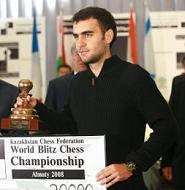 Leinier Domínguez campeón del mundo de ajedrez relámpago 2008