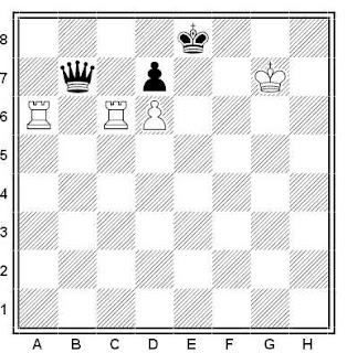 Problema de ajedrez número 440: Estudio de A. Gurvich (1960)