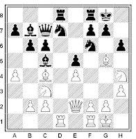 Partida de ajedrez: V. Zhidkov - E. Rogan (Campeonato de Ucrania, 1969)