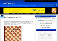 Ajedrez 32: blog de ajedrez publicado por Alex García