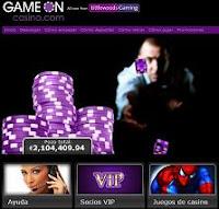 GameOn Casino Online o en linea