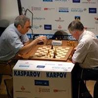 Duelo de ajedrez Kasparov vs. Karpov Valencia 2009