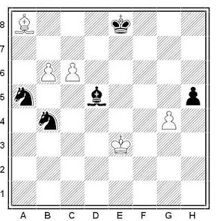 Problema ejercicio de ajedrez número 533: Estudio de J. Rodríguez Ibran (1979)