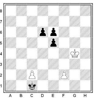 Problema ejercicio de ajedrez número 613: Estudio de Eduardo M. Iriarte (1997)