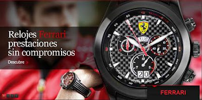 Relojes de la marca del Cavallino Rampante en Ferrari Store