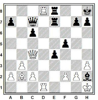 Problema ejercicio de ajedrez número 623: Szalancy - Vancsura (Budapest, 1988)