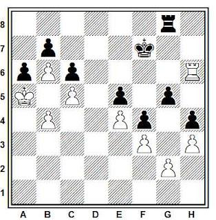 Problema ejercicio de ajedrez número 655: Miagmarsuren - Mak Grillen (Skopje, 1972)