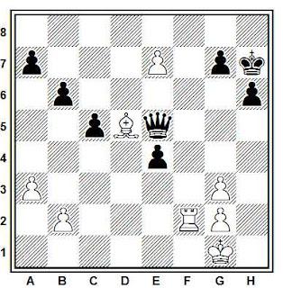 Problema ejercicio de ajedrez número 656: Zolotov - Yblev (Novosibirsk, 1981)
