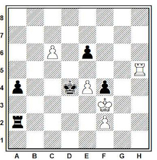 Problema ejercicio de ajedrez número 659: Szabo - Cebalo (Berna, 1987)