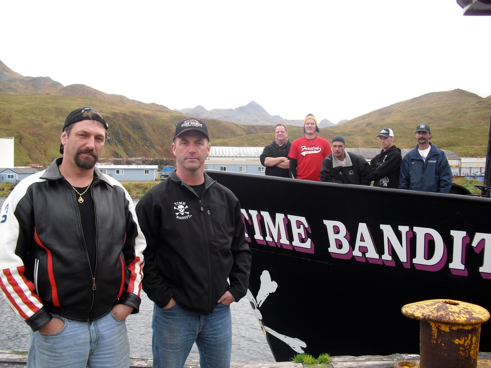 Deadliest catch time bandit crew