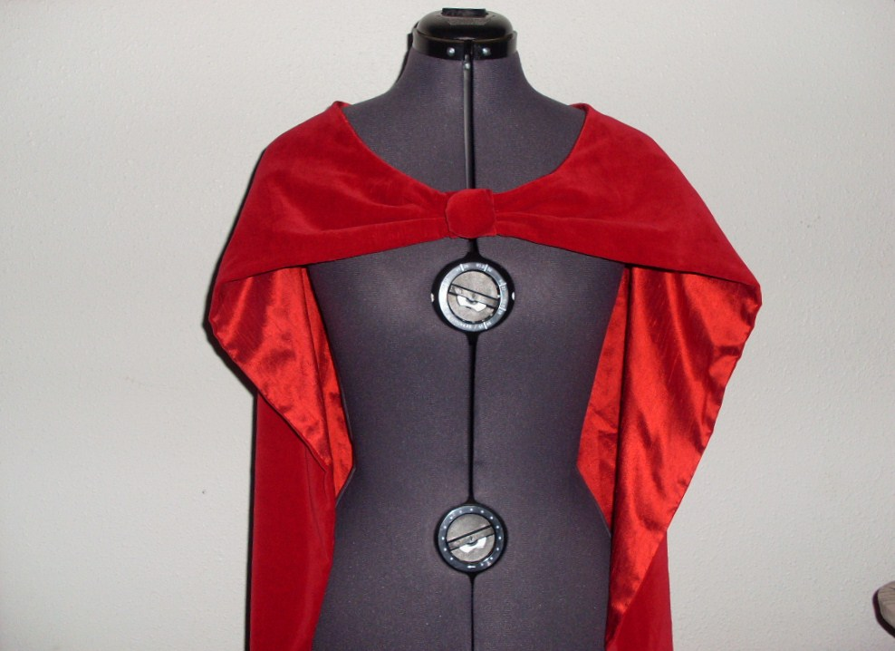 how to cut and stiffen a snow white collar costume