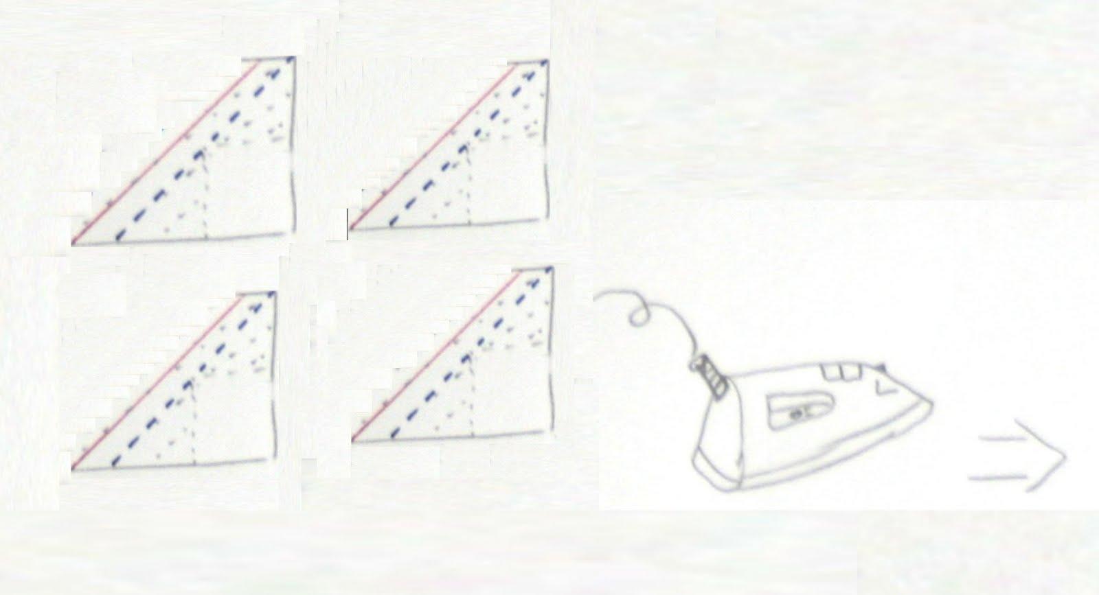 trois piqûres en triangle