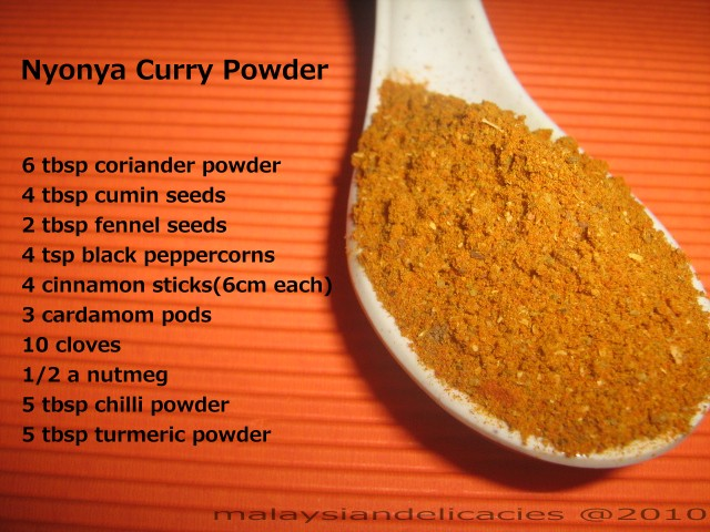 how to use curry powder with chicken