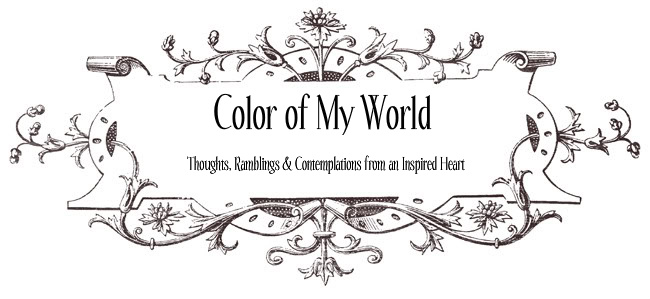 Color of My World