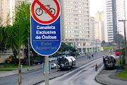 Biarticulado em Curitiba PR